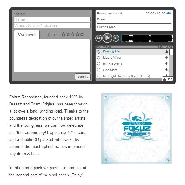 Promo Service | Triple Vision records Distribution