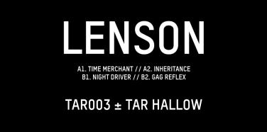 Record of the Week: Lenson – TAR003 Lenson